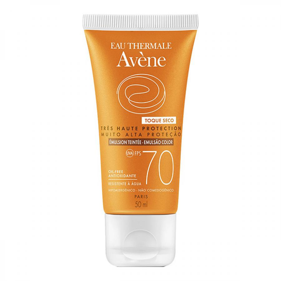 AVENE FPS 70 TOQUE SECO COLOR 50ML ANTIOX