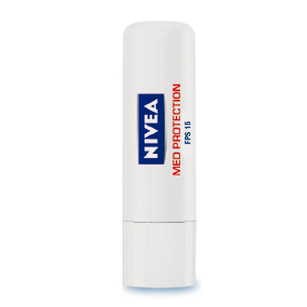 NIVEA LIP CARE 4 8G MED PROTECTION