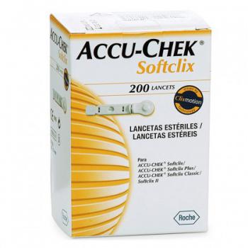 ACCU CHEK SOFTCLIC CX 200 LANCETAS