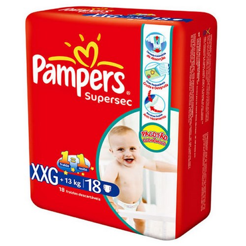 FD PAMPERS SUPERSEC PACOTAO ECON XXG 20