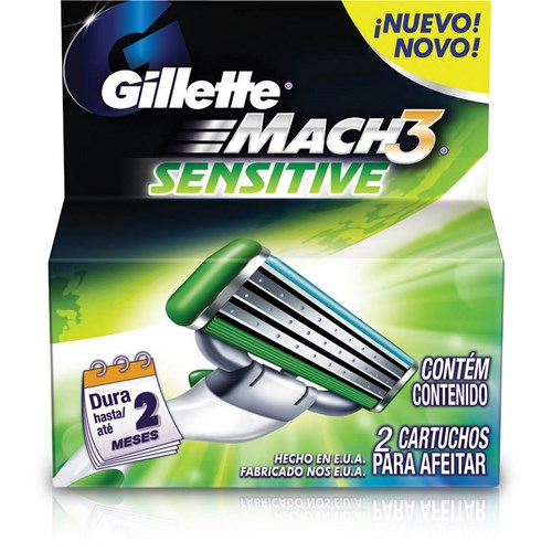 CARGA MACH3 SENSITIVE 2 UNID