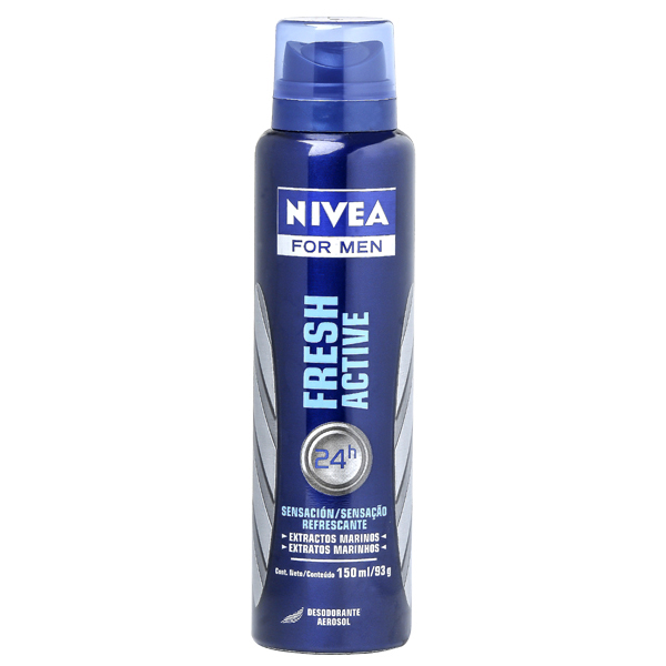 DES NIVEA MEN AER 150ML FRESH ACTIVE