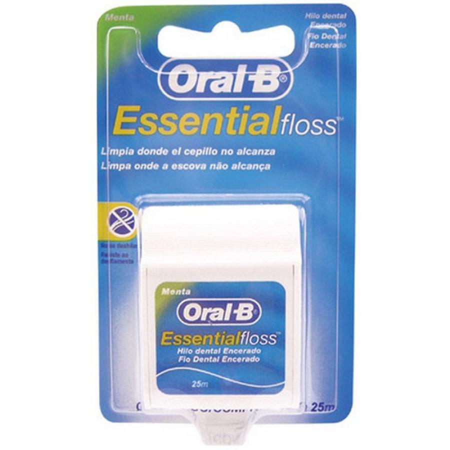FIO DENTAL ORAL B ESSENTIAL 25M MENTA