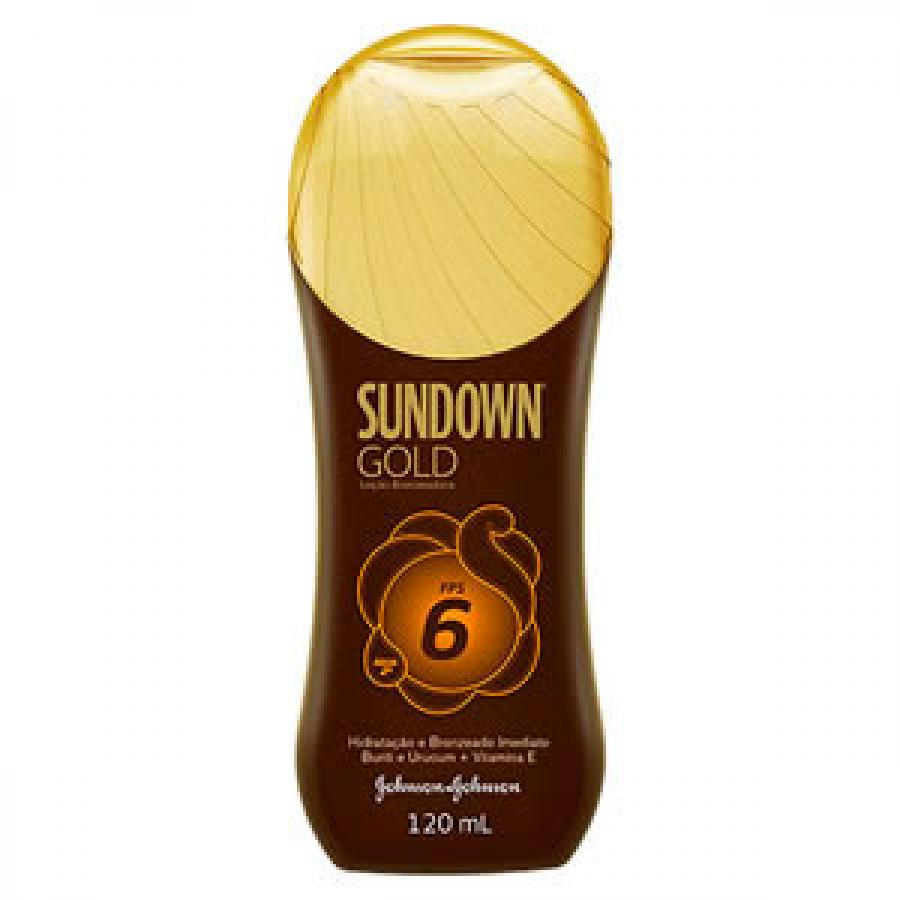 SUNDOWN GOLD LOCAO BRONZ 120ML FPS6