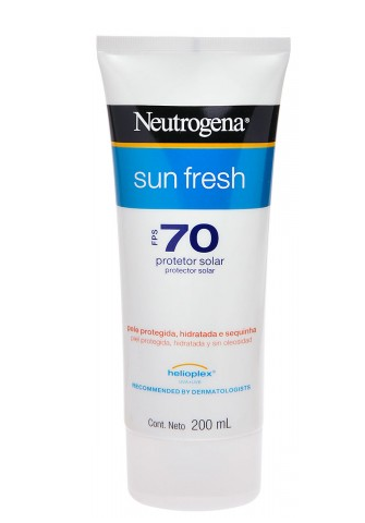 NEUTROGENA SUN FRESH FPS 70 200ML