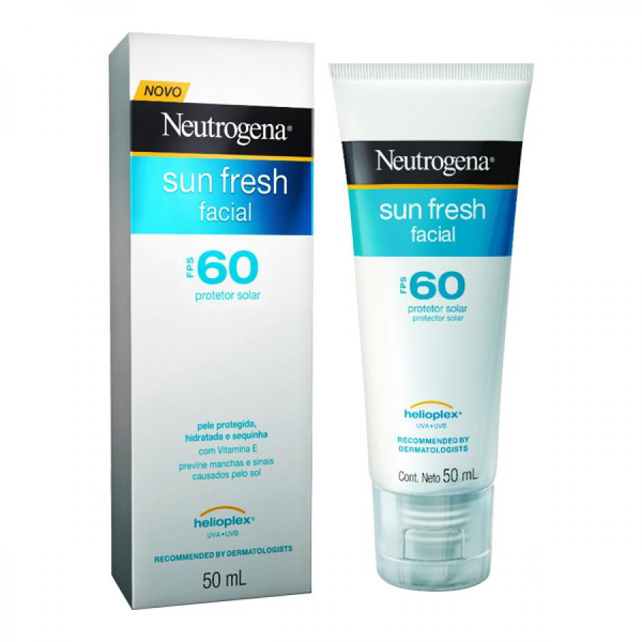NEUTROGENA SUN FRESH FACIAL FPS 60 50ML