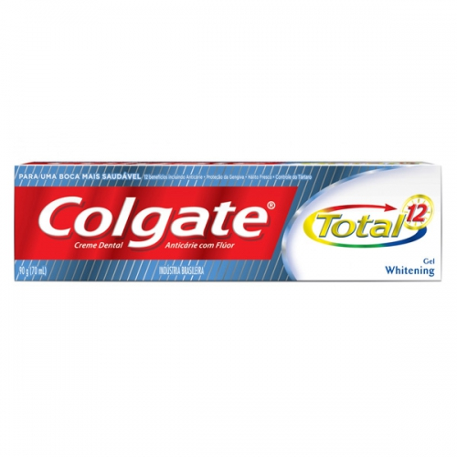 CD COLGATE TOTAL 12  90G  WHITENING