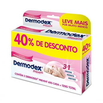 KIT DERMODEX PREVENT C 2 60G TOTAL 120G