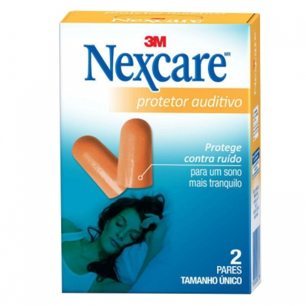 PROTETOR AUDITIVO NEXCARE CX 2 PARES