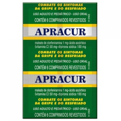 APRACUR BLISTER 6 CP