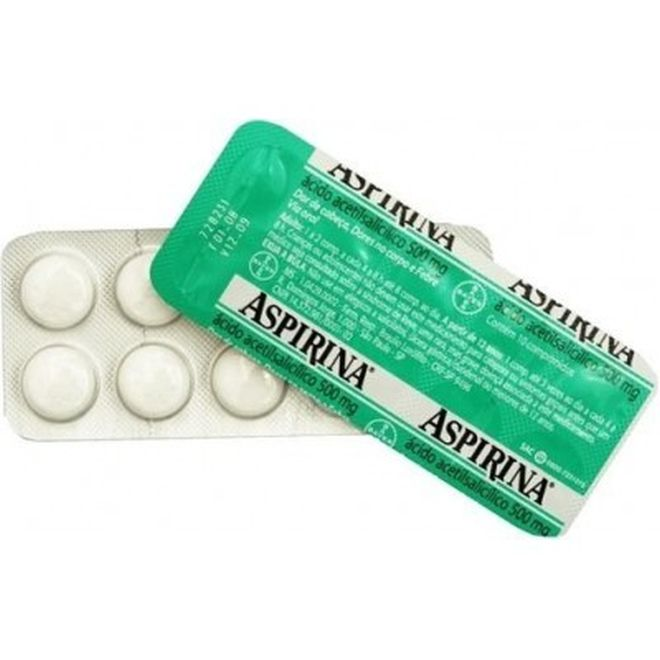 ASPIRINA ADULTO 500MG BLISTER 10 CP