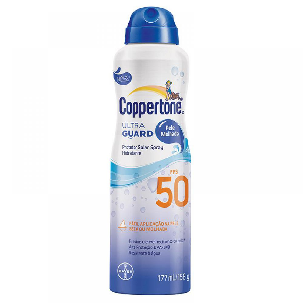 COPPERTONE ULTRA GUARD  FPS50 200ML SPRAY