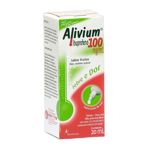 ALIVIUM 100MG GTS 20 ML
