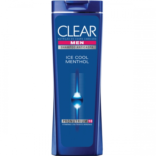 SH CLEAR MEN ANTICASPA 200ML ICE COOL MENTHOL