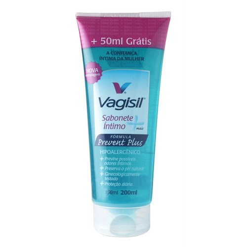 SAB INTIMO VAGISIL 200ML PREVENT PLUS GRATIS 100ML
