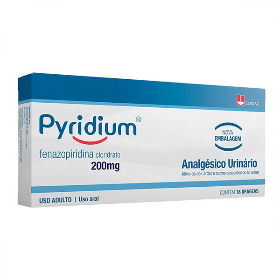 PYRIDIUM 200MG 18 DRAGEAS