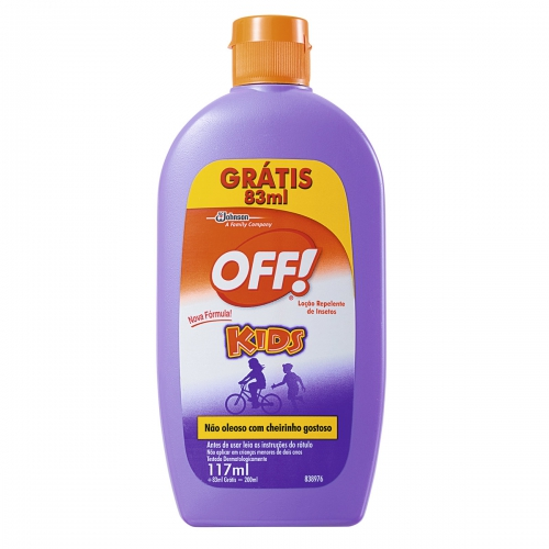 REPELENTE OFF LOCAO 200ML KIDS