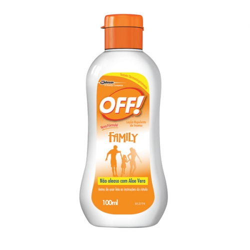 REPELENTE OFF LOCAO 100ML FAMILY