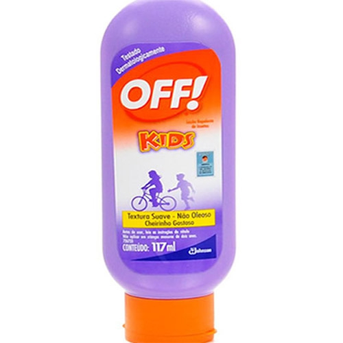 REPELENTE OFF LOCAO 117ML KIDS