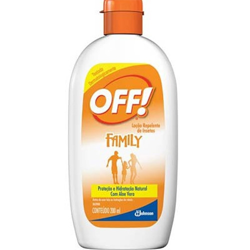 REPELENTE OFF FAMILY 200ML LOCAO