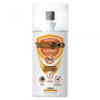 REPELENTE TRIBLOCK ADULTO ICARIDINA 7 HORAS  SPRAY   100ML