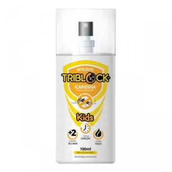 REPELENTE TRIBLOCK KIDIS  ICARIDINA 7 HORAS  SPRAY   100ML