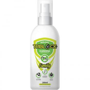 REPELENTE TRIBLOCK FAMILY ICARIDINA 7 HORAS  SPRAY   200ML