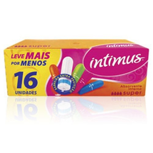 ABS INTERNO INTIMUS 16 UNID  SUPER