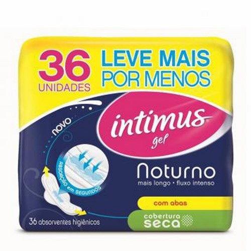 ABS INTIMUS GEL NOT 36 UNID  SECA