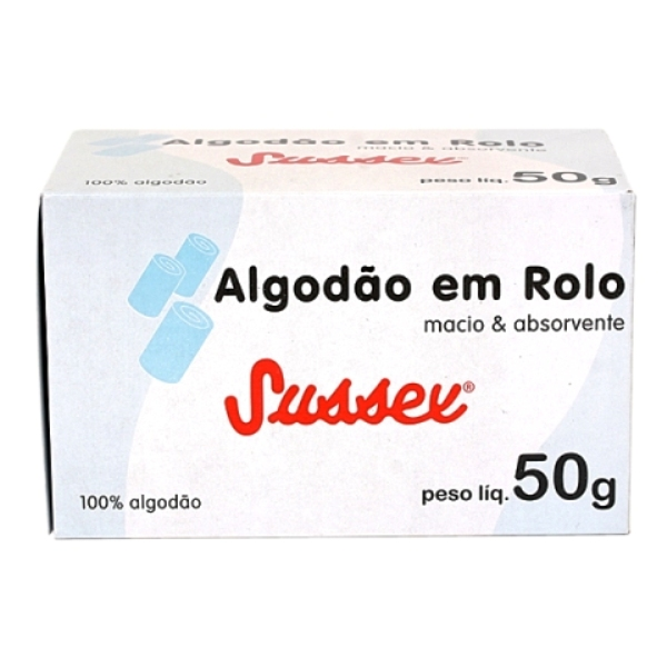 Algodao Sussex  50g Rolo