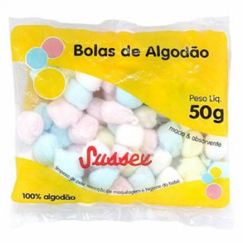 ALGODAO SUSSEX BOLA COLORIDA 50GR