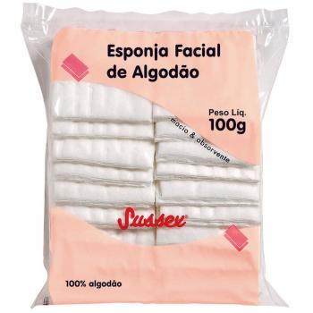 ALGODAO SUSSEX LIMPEZA FACIAL 100G