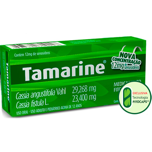 TAMARINE 12MG CX 20 CAP CONCENTRADO