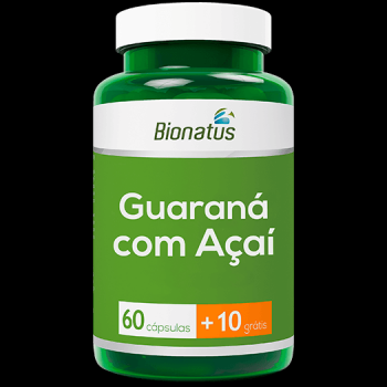 BIONATUS GUARANA C  ACAI 60 CPS