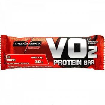Barra de Proteina VO2 Protein Bar Chocolate 30g - IntegralMédica