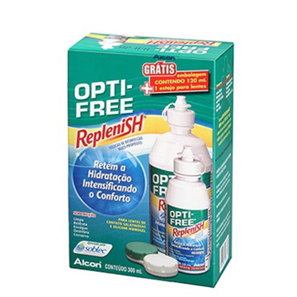 OPTI FREE REPLENISH 300ML   120ML