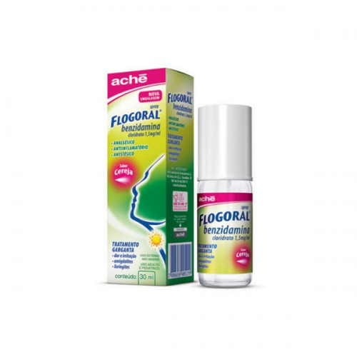 Flogoral Sabor Cereja Spray 30ml