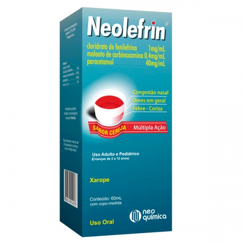 NEOLEFRIN XP CEREJA 60 ML