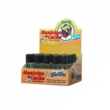MANTEIGA DE CACAU ROLL ON 10ML ZIINZIIN