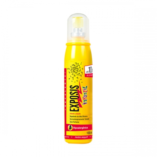 REPELENTE EXPOSIS INFANTIL SPRAY100ML