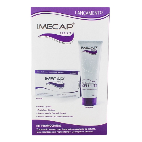 IMECAP CELLUT GEL CREME 250MG   60 CAPS