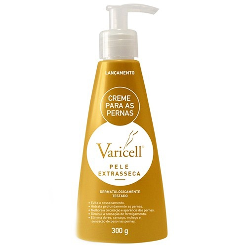 VARICELL CREME 300G PELE EXTRA SECA