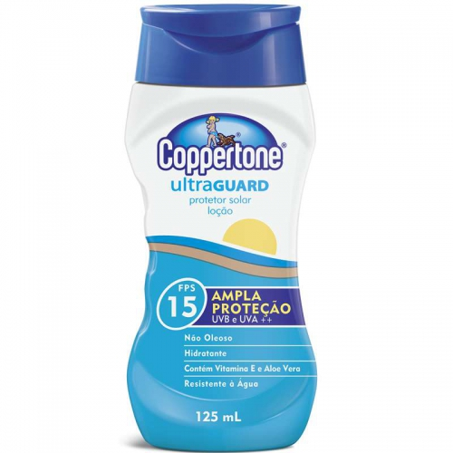 BR COPPERTONE ULTRAGUARD 125ML FPS15 LOCAO