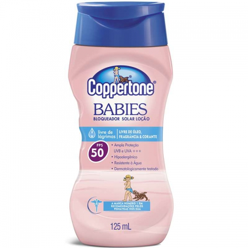 BR COPPERTONE BABIES FPS50 125ML