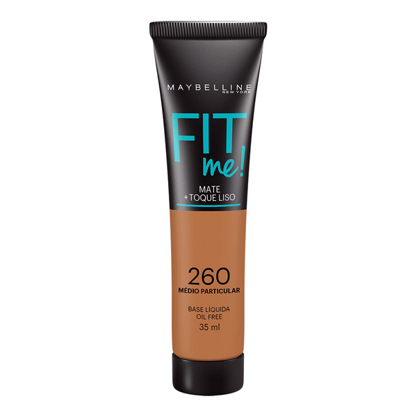 MAYBELLINE FIT ME BASE LIQ 35ML 260 MEDIO PARTICULAR