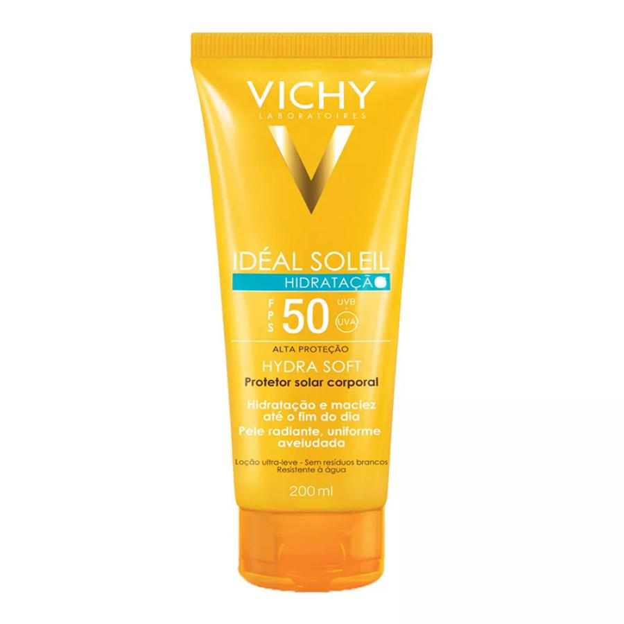 VICHY IDEAL SOLEIL HYDRASOFT FPS50 200ML